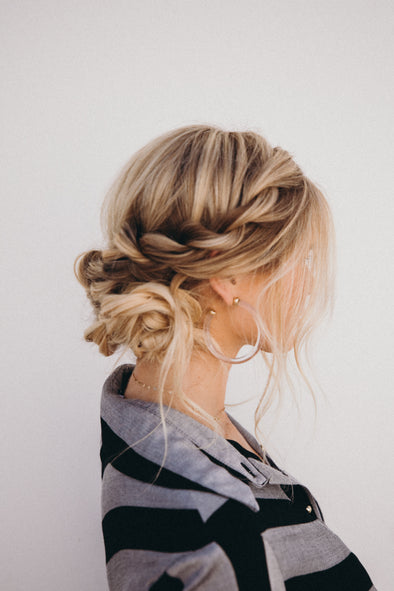 Hairstyle: 2 Twist Updo