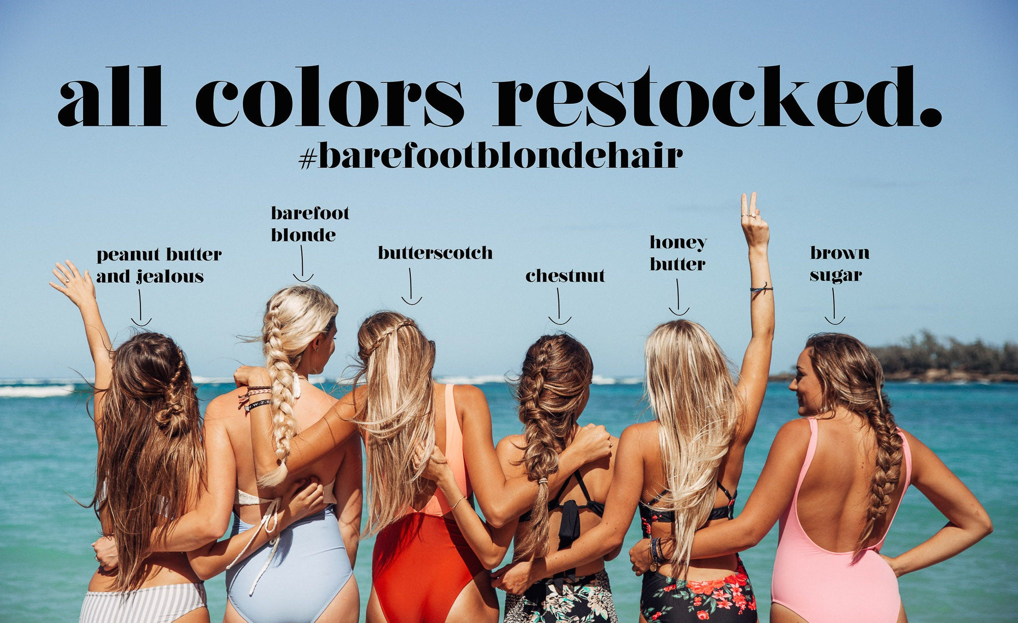 Barefoot Blonde Hair girls