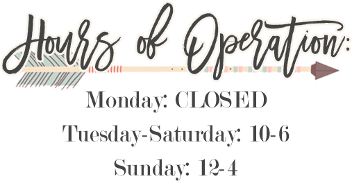 Gypsy Rebel Boutique's Hours of Operation