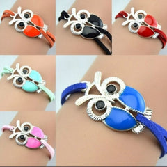 Cute Owl Shaped Fill Charm Bracelet - YouareUnique - 2