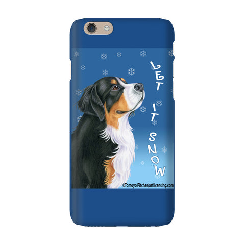Let It Snow Dog Lover Phone Case