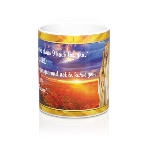For I know the plan I have for you Mug 11oz
