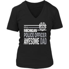 Limited Edition - This Michigan Police Officer Is An Awesome Dad - YouareUnique - 5