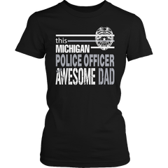 Limited Edition - This Michigan Police Officer Is An Awesome Dad - YouareUnique - 2