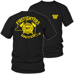 Limited Edition - New York Firefighters United - YouareUnique - 1