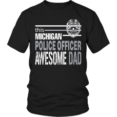Limited Edition - This Michigan Police Officer Is An Awesome Dad - YouareUnique - 1