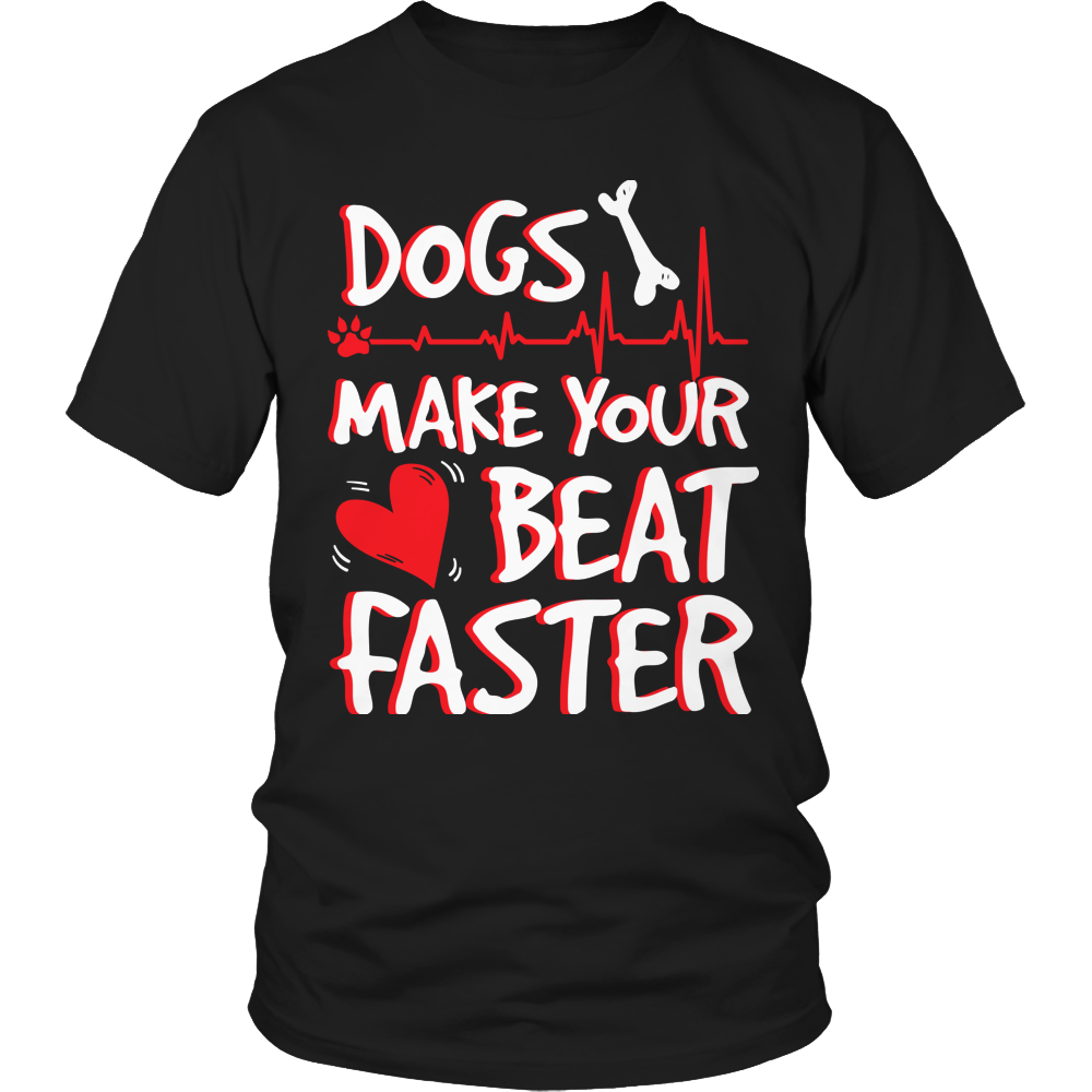Dogs Make Your Heart Beat