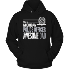Limited Edition - This Michigan Police Officer Is An Awesome Dad - YouareUnique - 4