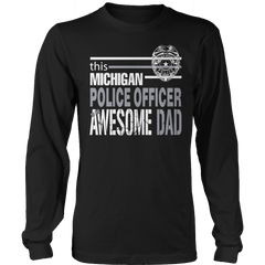 Limited Edition - This Michigan Police Officer Is An Awesome Dad - YouareUnique - 3