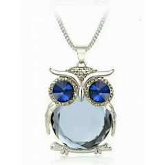 Top Quality Owl Rhinestone Crystal Pendant Necklace - YouareUnique - 2