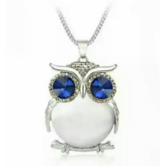 Top Quality Owl Rhinestone Crystal Pendant Necklace - YouareUnique - 3