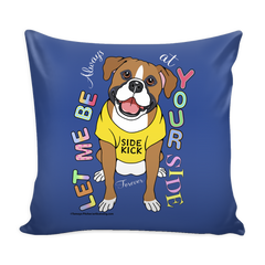 Pillow case designed for dog lovers
