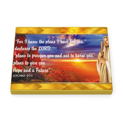 For I know the plans I have for you Canvas Wrap