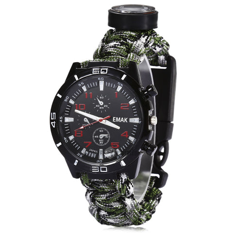 Outdoor Survival Watch Free + Shipping