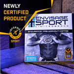 Load image into Gallery viewer, Envisage Sports Endurance Pre-Workout Coffee
