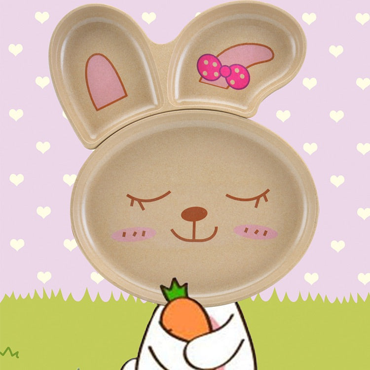 Rice Husk Rabbit PLate