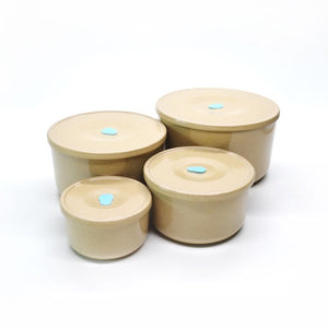 Rice Husk Storage Containers - Set of 4