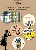 Load image into Gallery viewer, Organic Beeswax Food Wraps