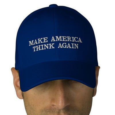 Make America Think Again Hat - Hat - The Resistance