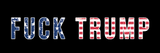 Fuck Trump Bumper Stickers - Bumper Sticker - The Resistance