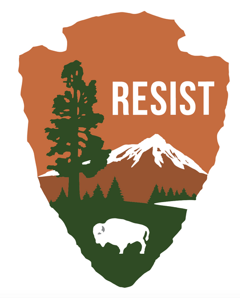 NPS Resist Bumper Sticker - Bumper Sticker - The Resistance