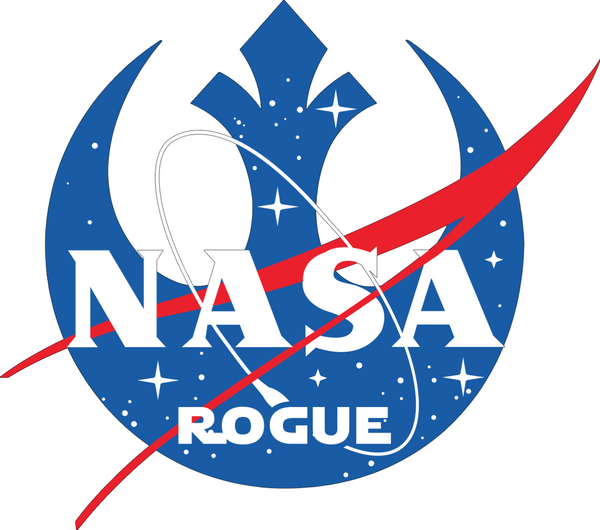 NASA Rogue Bumper Sticker - Bumper Sticker - The Resistance
