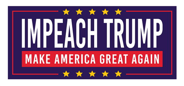 Impeach Trump Sticker - Bumper Sticker - The Resistance