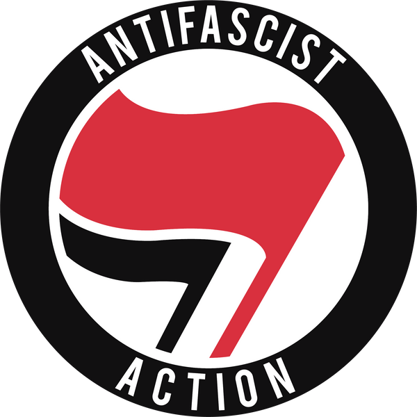 Antifa Anti-Fascist Action Sticker