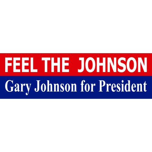 Feel The Johnson Bumper Stickers - Bumper Sticker - The Resistance