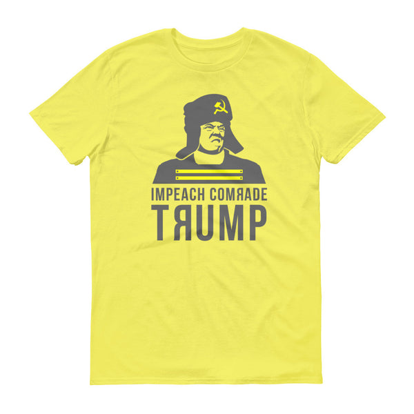 Impeach Comrade Trump Short sleeve t-shirt - T-Shirt - The Resistance