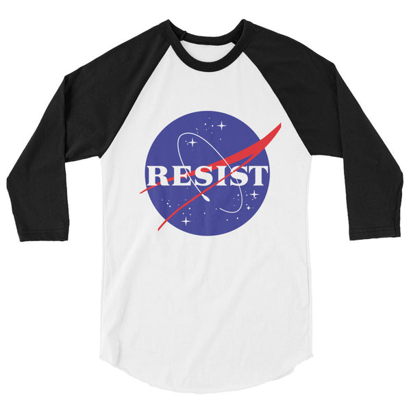 NASA Resist 3/4 sleeve raglan shirt - T-Shirt - The Resistance