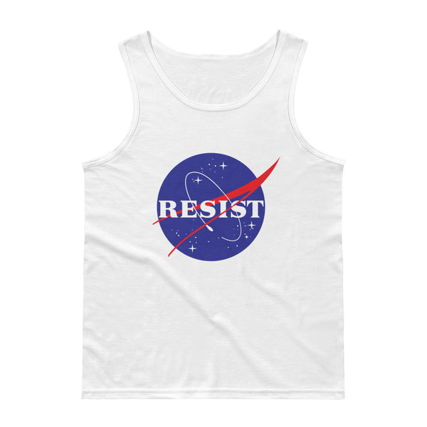 Nasa Resist Tank Top - Tank Top - The Resistance