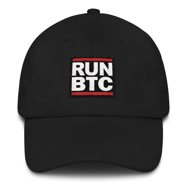 Bitcoin RUN BTC cryptocurrency Dad hat - hat - The Resistance