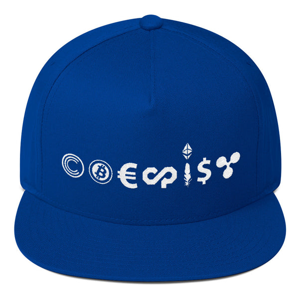 CryptoCurrency Coexist Hat - Hat - The Resistance