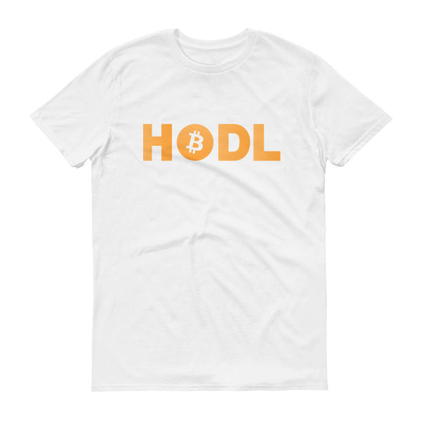 Bitcoin HODL Short sleeve t-shirt - T-Shirt - The Resistance