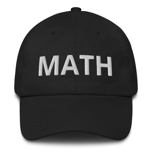 MATH: Make America Think Harder Yang 2020 Cap