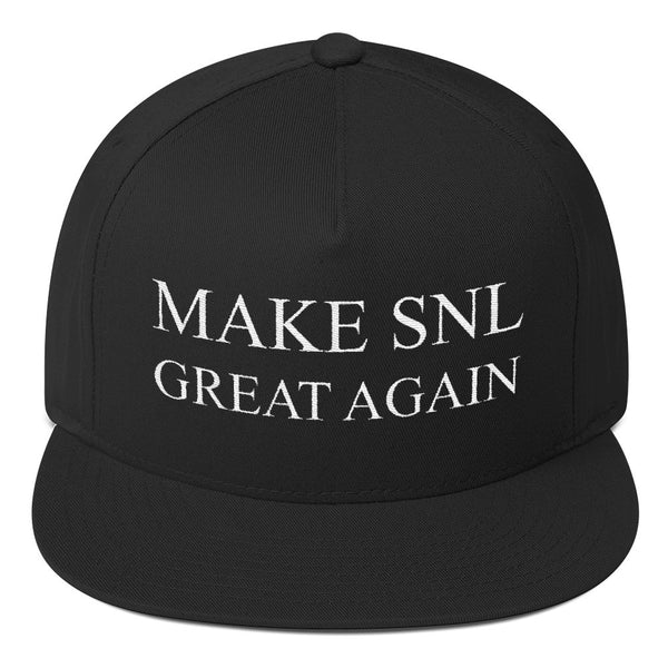 Make SNL Great Again Flat Bill Cap - Hat - The Resistance
