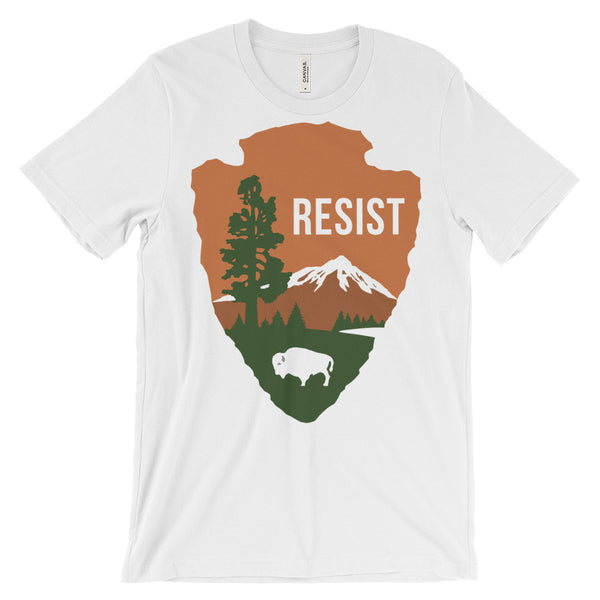 NPS Resist Unisex short sleeve t-shirt - T-Shirt - The Resistance