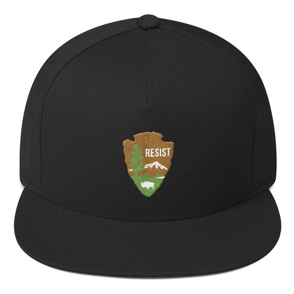 National Parks Service Resist Flat Bill Cap - Hat - The Resistance