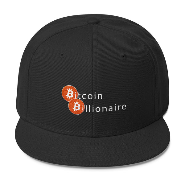Bitcoin Billionaire Hat - Otto Wool Blend Snapback - Hat - The Resistance