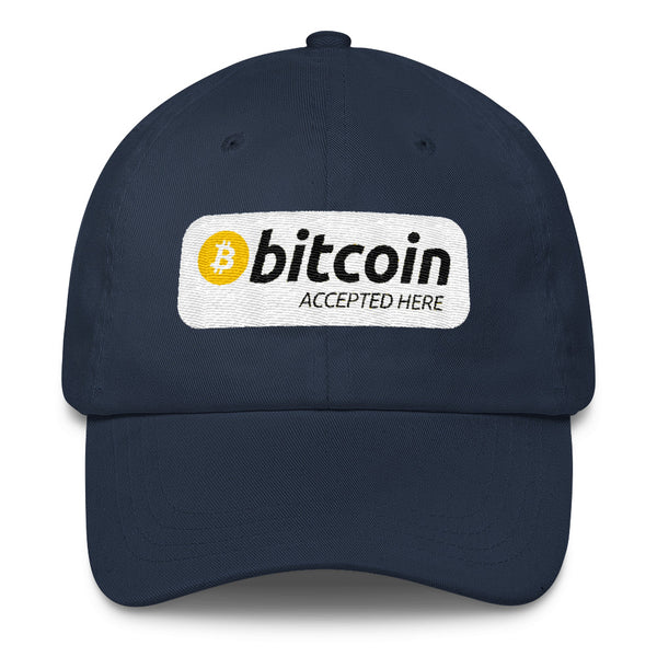 Bitcoin accepted here Classic Cap - Hat - The Resistance