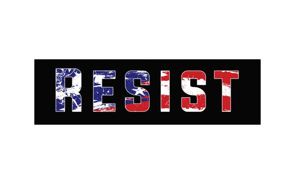 Resist! Bumper Stickers - Bumper Sticker - The Resistance