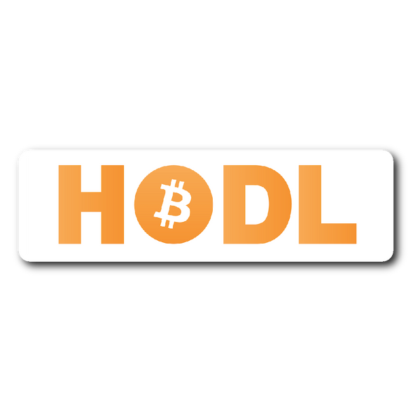 Bitcoin HODL Bumper Stickers