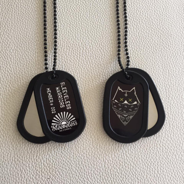 Sleeveless Warriors Membership Dogtags