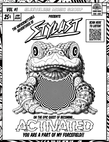 Stylust ACTIVATED coloring page - FREE DL