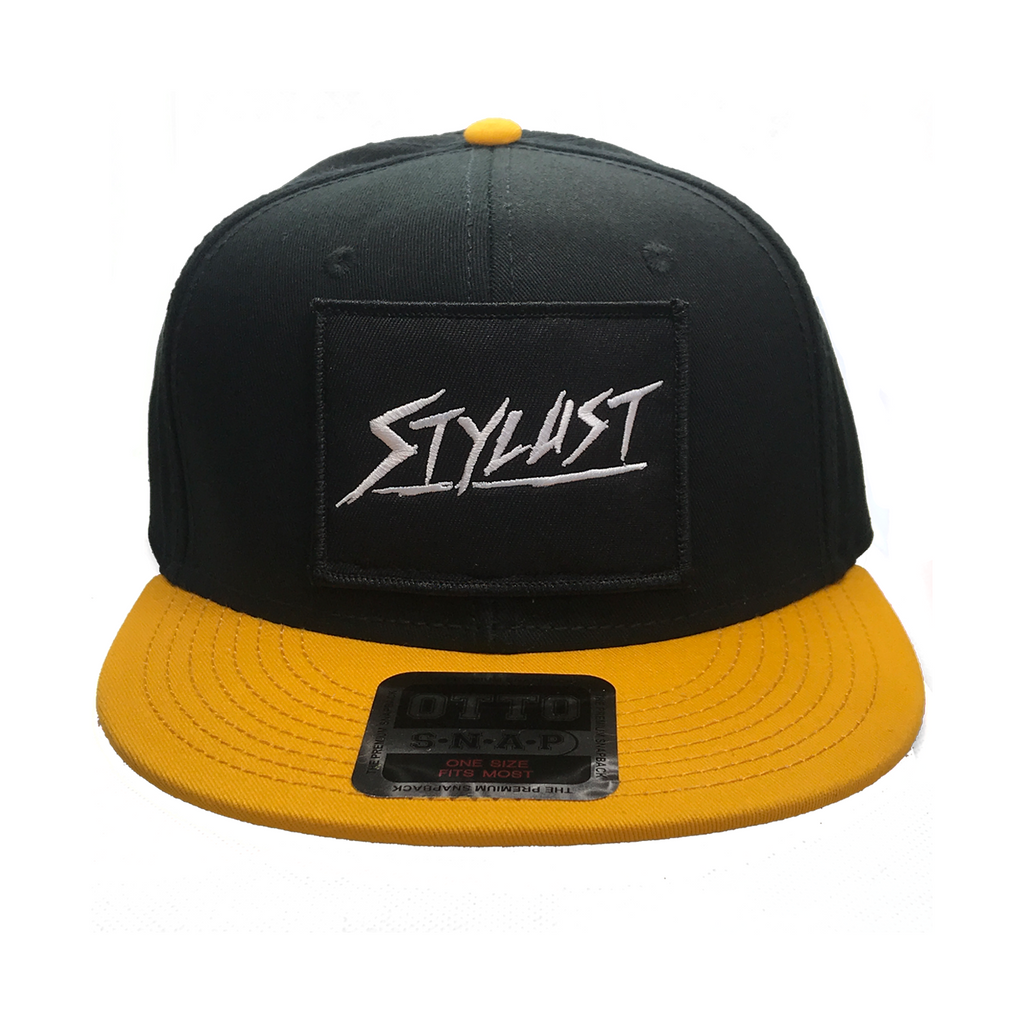 Black and Yellow Classic Snapback