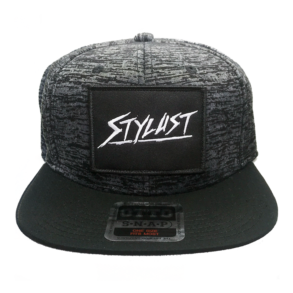 Dark Grey Jersey Knit Snapback