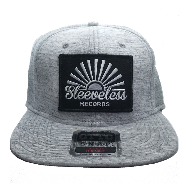 Light Grey Jersey Knit Snapback