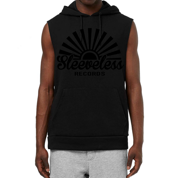 Sleeveless Black on Black 2018 Hoodie