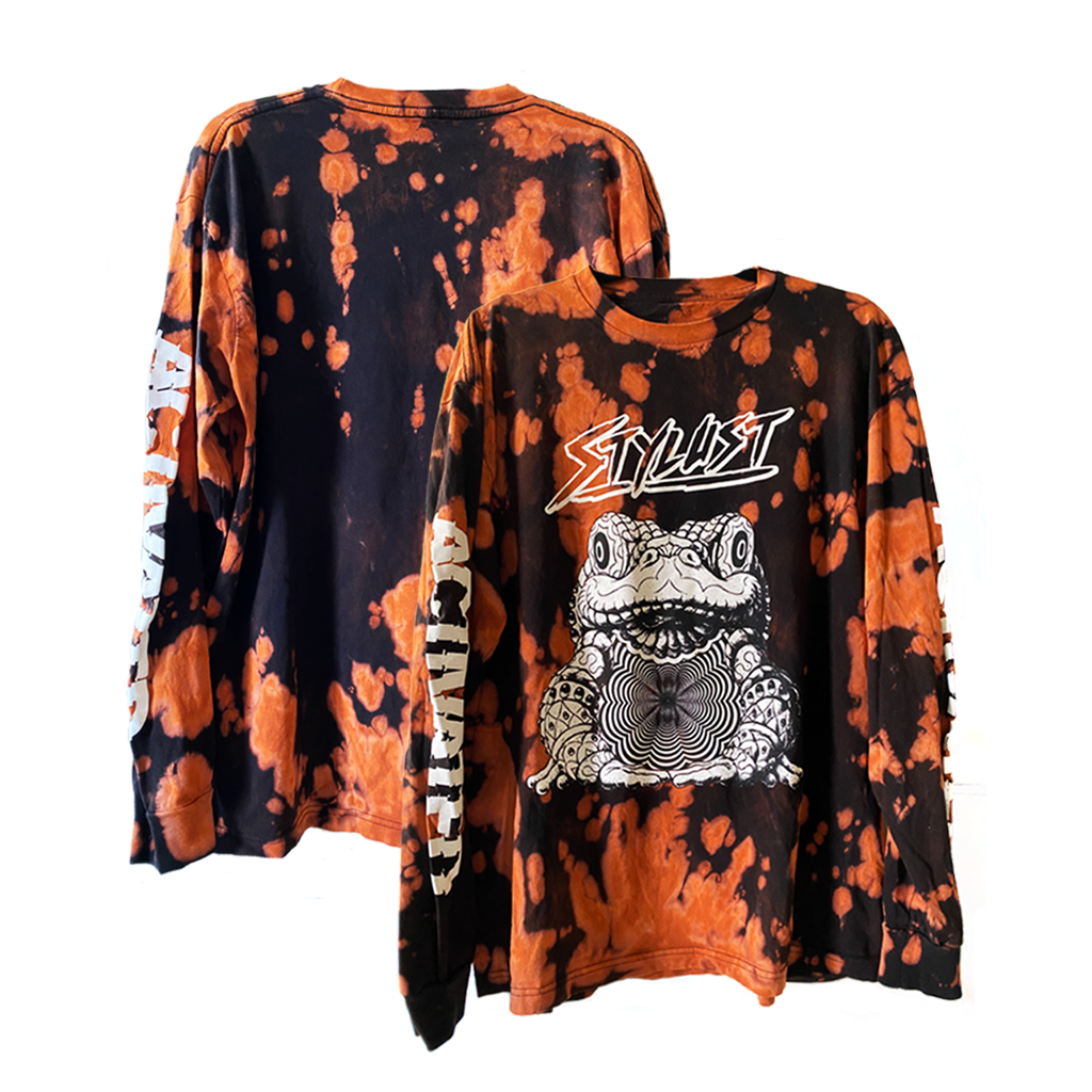 Limited Edition Bleach-Dyed ACTIVATED Longsleeve